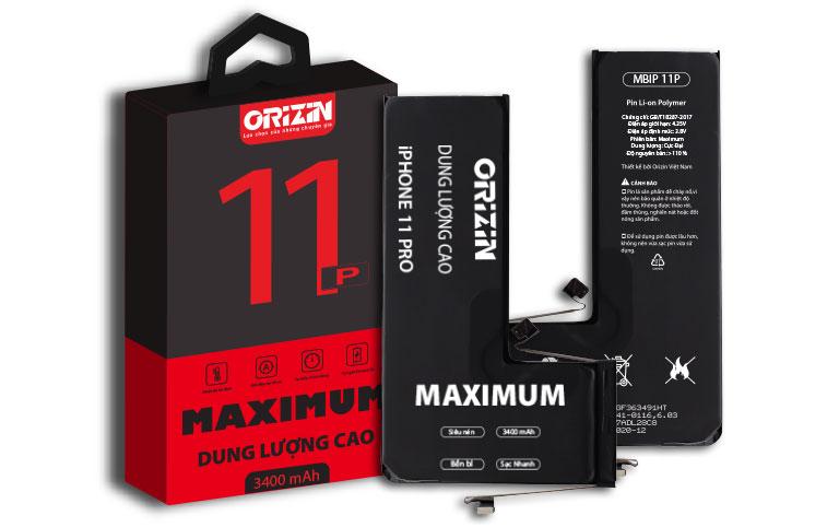 Pin iphone 11 Pro   Pin Dung Lượng Cao Iphone 11 Pro