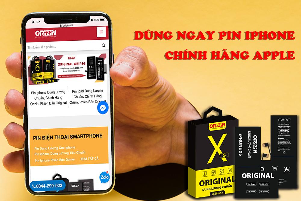Thay Pin Iphone Chính Hãng Apple