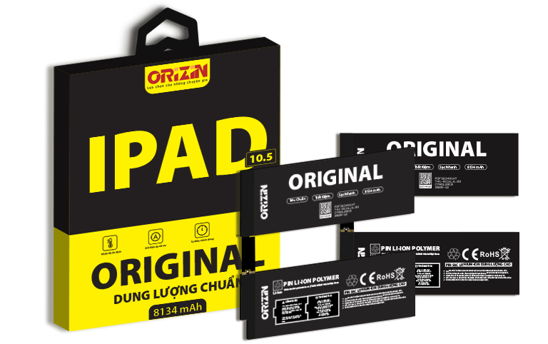 Pin Ipad Pro 10.5 Chính Hãng Orizin Maximum