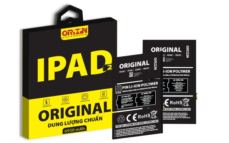 Pin Ipad 2 | Pin Ipad 2 Giá Sỉ