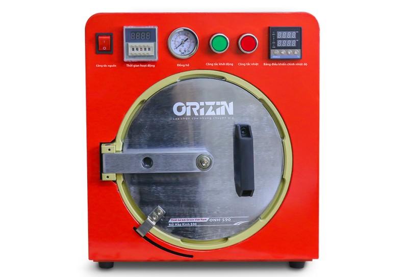Nồi hấp ép kính điện thoại Orizin ONH - S90 chính hãng, giá rẻ Hà Nội.