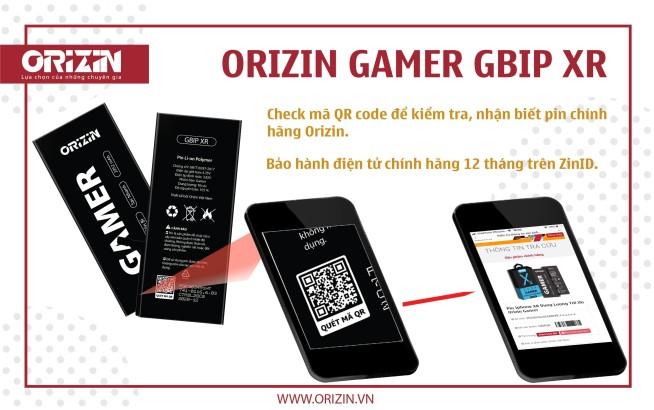 Pin Iphone XR   Pin Dung Lượng Cao Iphone XR Cho Game Thủ
