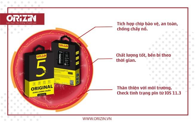 Dung lượng Iphone 5C, Pin Iphone 5S Giá Sỉ, chính hãng tại Hà Nội.